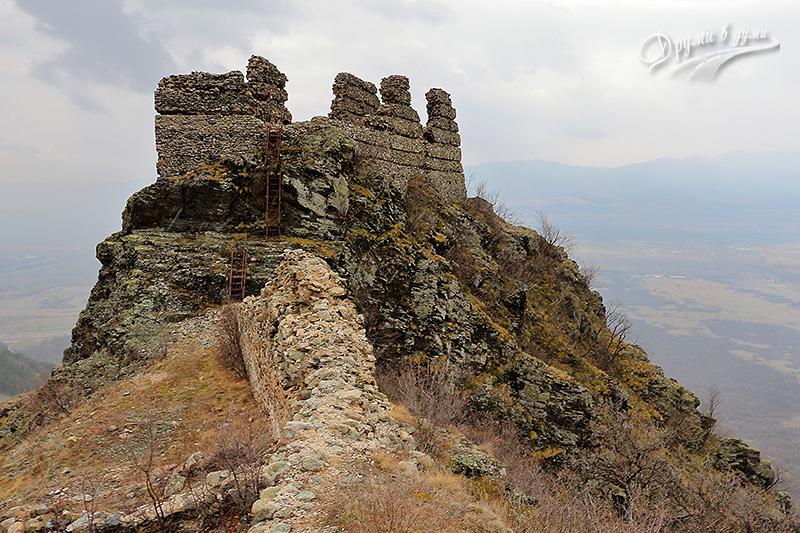 Аневско кале - южна кула