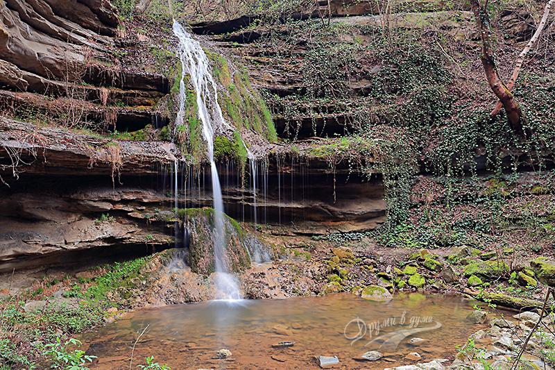 Златният водопад край село Иванча