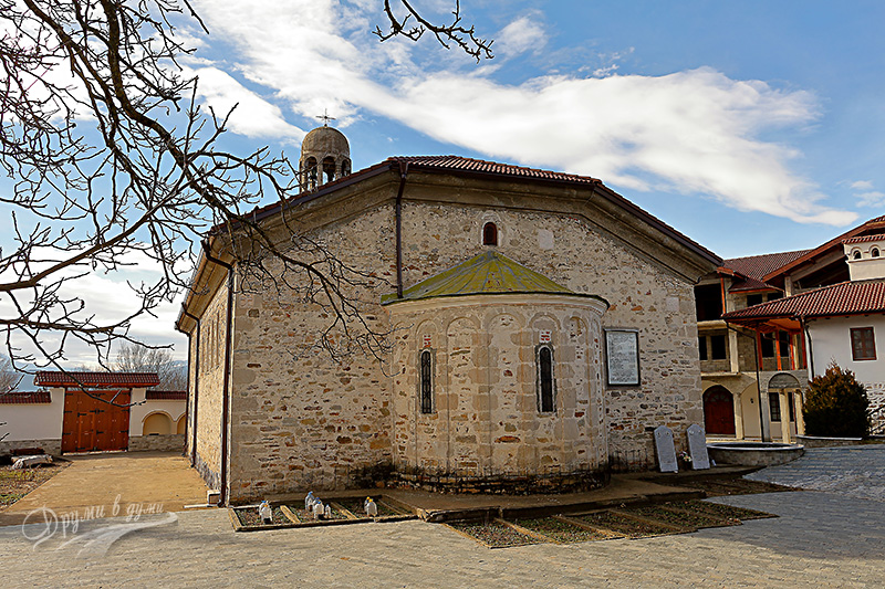 Хаджидимовски манастир: църквата