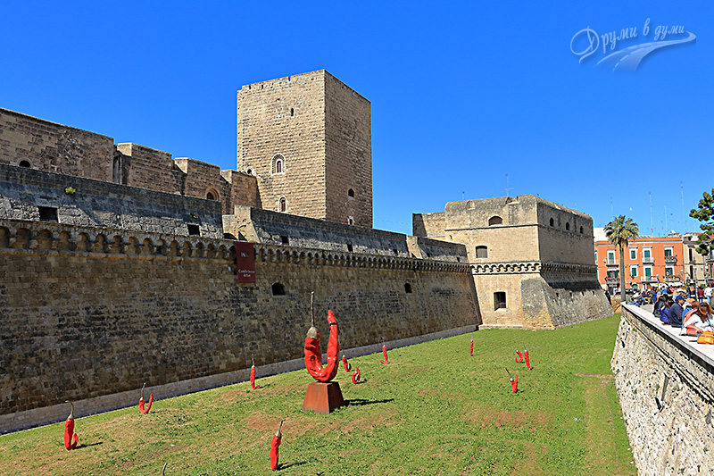 Bari: the Norman castle Svevo