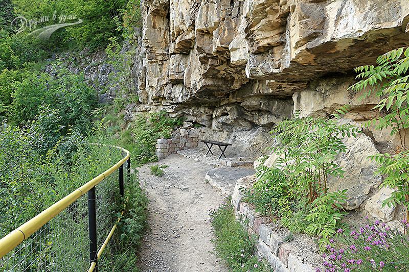 По пътеката при Лакатнишки скали, малко след Житолюб
