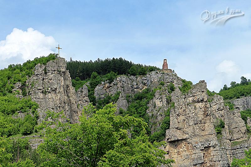 Лакатнишки скали - поглед към целта