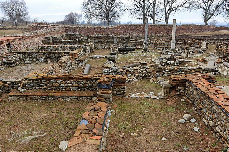 Останки от римска аристократична вила