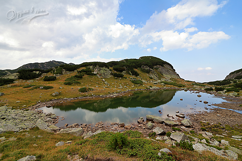 Голямо Камилско езеро - още едно красиво рилско езеро