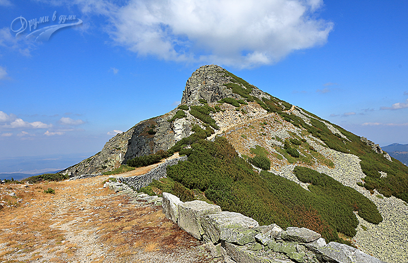 Mechit Peak in Rila Mountains