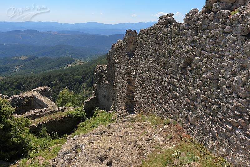 Ustra Fortress in the Eastern Rhodopes