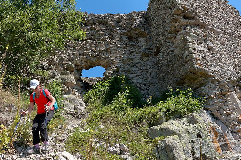Крепост Устра - на връщане