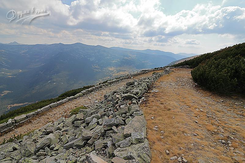 По пътя към съседния връх