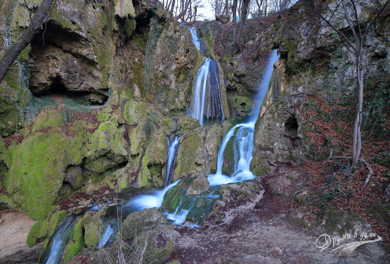 Bachkovo waterfall - one of the most beautiful and extravagant waterfalls in Bulgaria