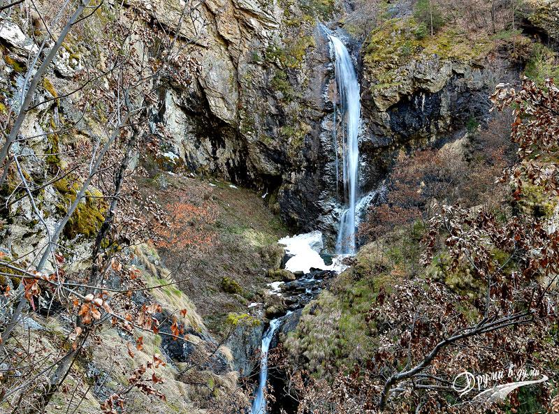 Goritsa waterfall