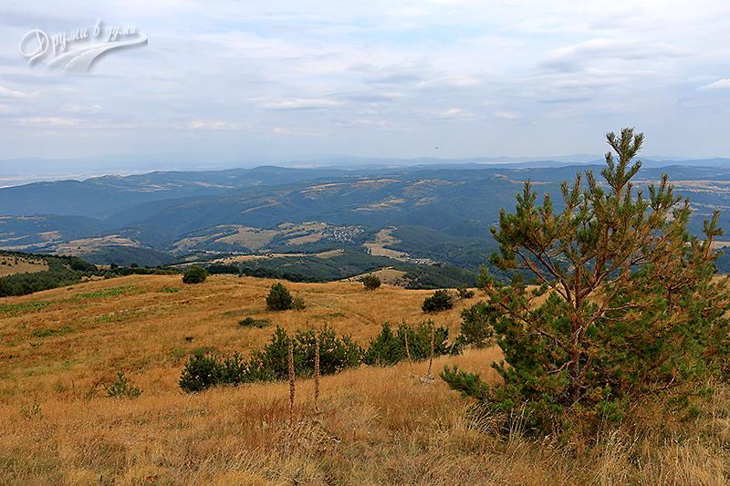 Поглед назад към село Железница