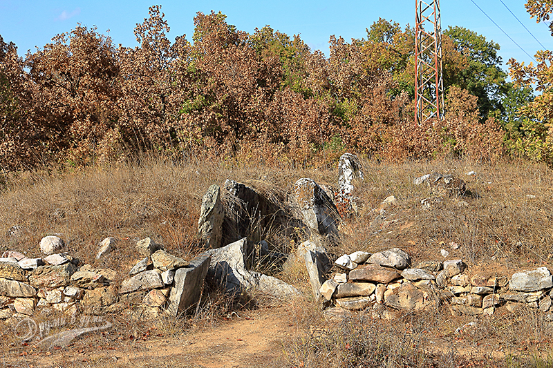 Край село Евренозово - двукамерен долмен