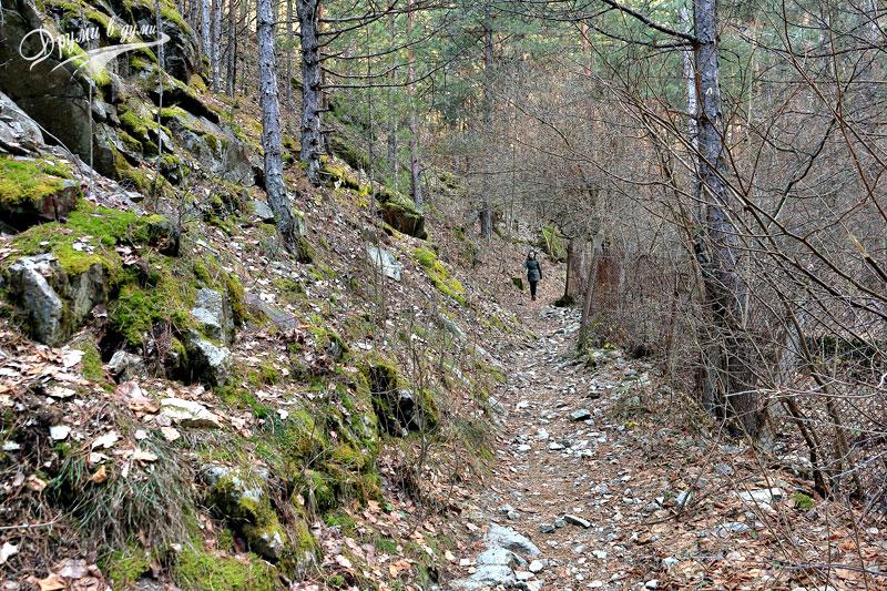 По екопътека Горица