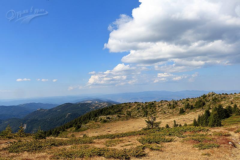 Последни метри към върха и красиви гледки