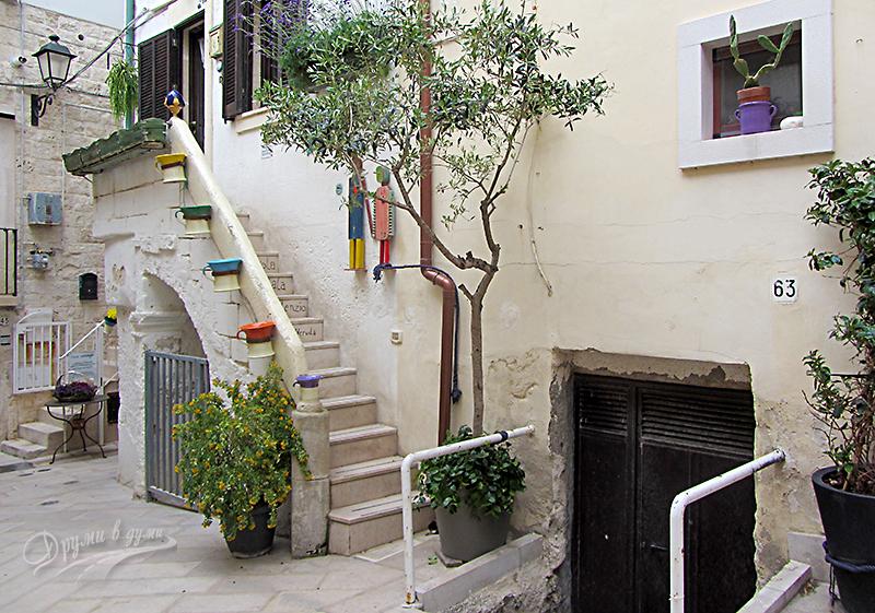 Полиняно а маре: из уличките в центъра