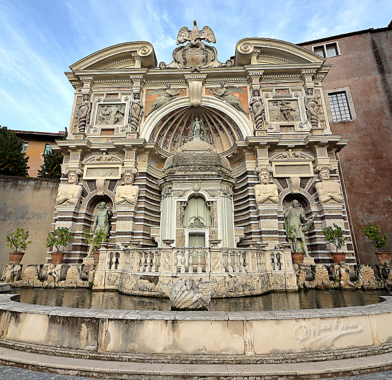 Вила д'Есте: фонтан Органа