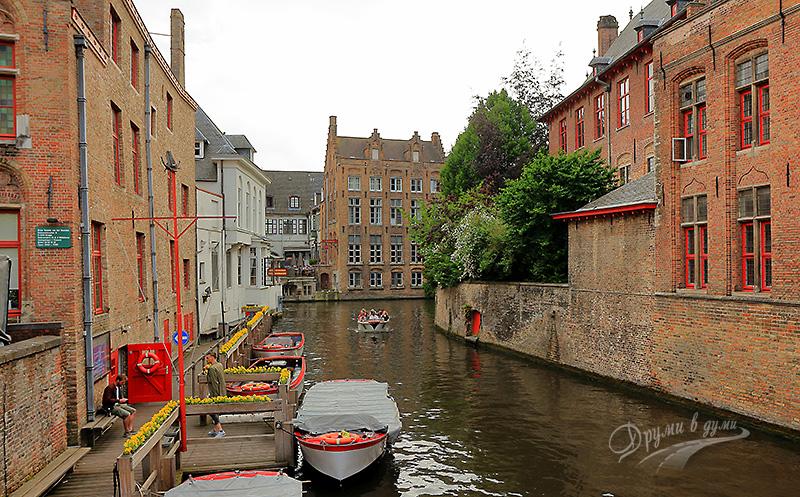 Kаналите - ненапразно наричат Брюж Северната Венеция