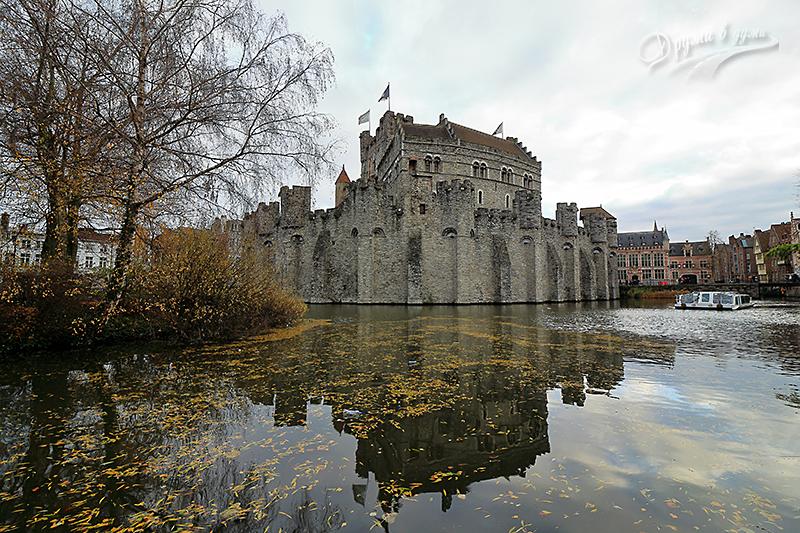 Гент - средновековен замък Гравенстейн