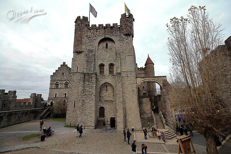 В замъка Гравенстен