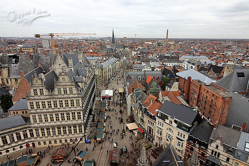 Панорамна гледка от кулата
