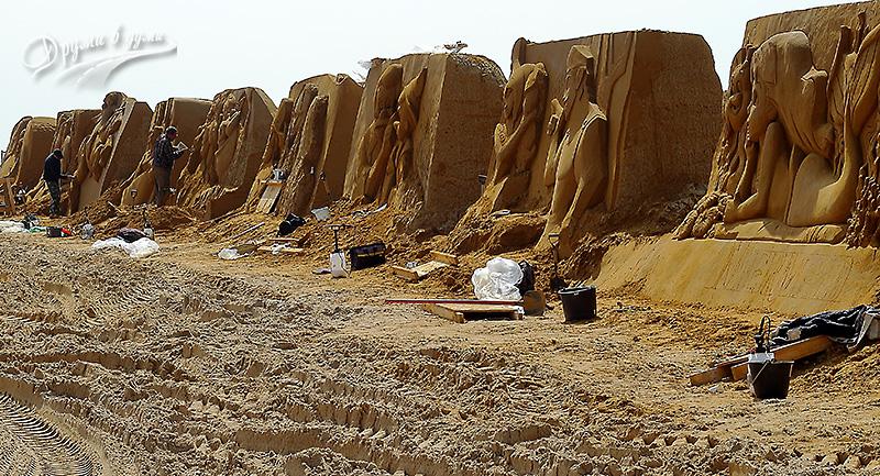 Пясъчни скулптури
