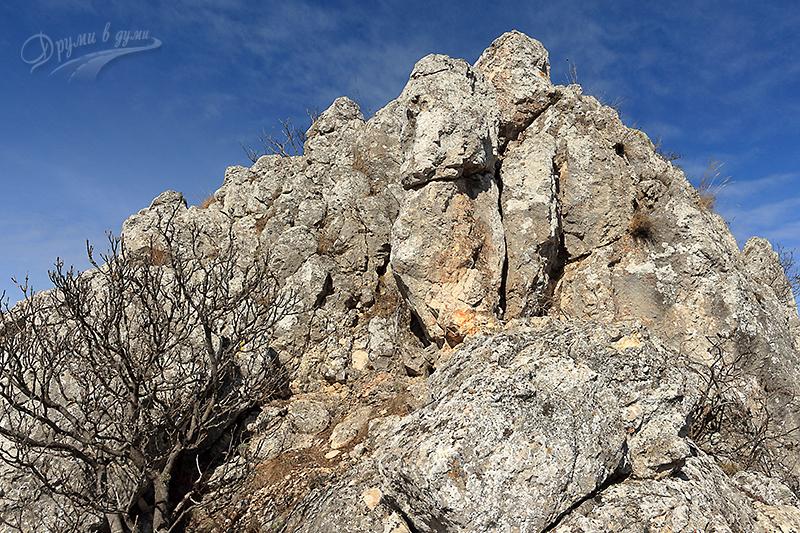 Маршрут 3 - трудният участък към връх Драговски камик
