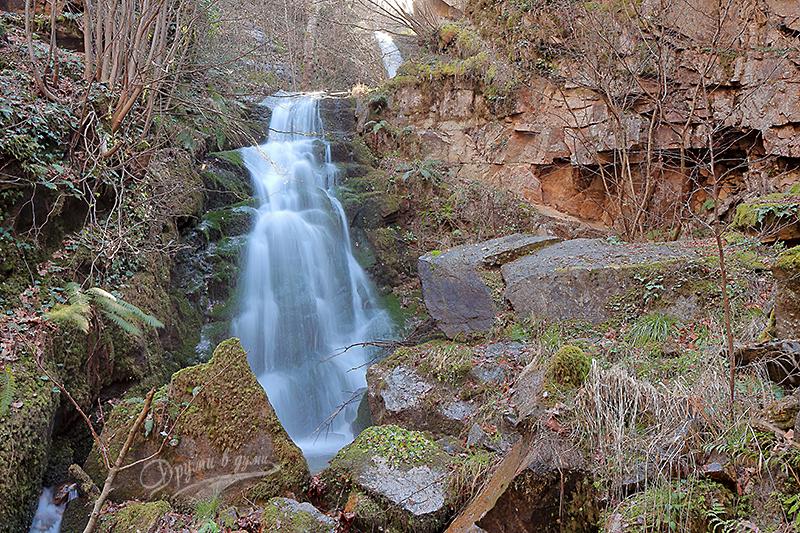 Един от Габровските водопади