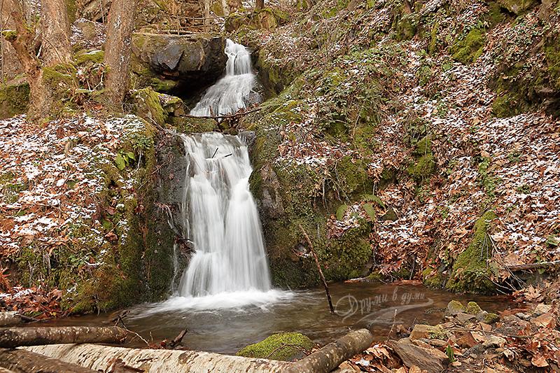 Водопадите над село Ключ в Беласица
