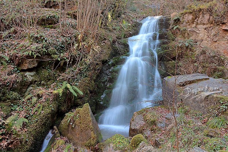Трети Габровски водопад - най-горният