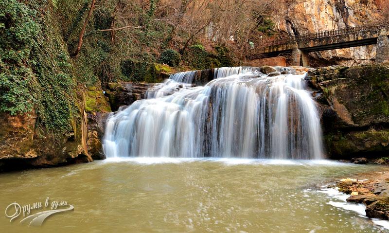 Водопад Андъка - вторият Дряновски водопад