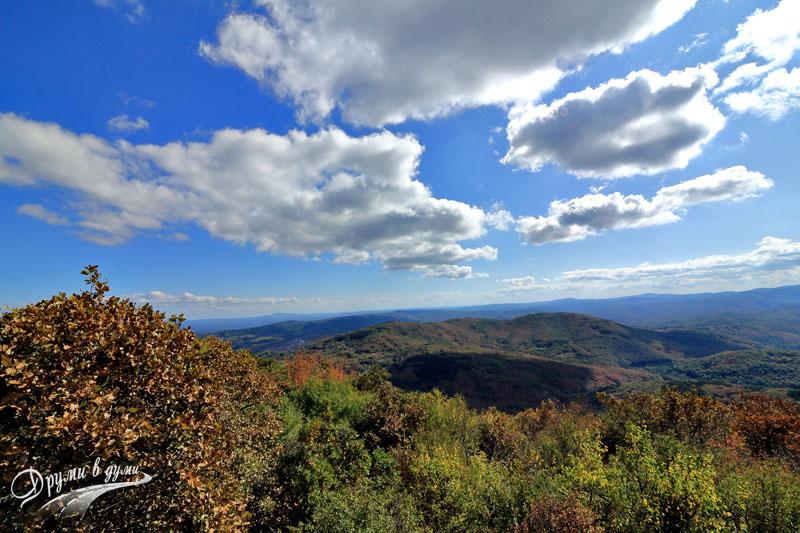 На връх Голямо градище: най-високият в българската част на Странджа