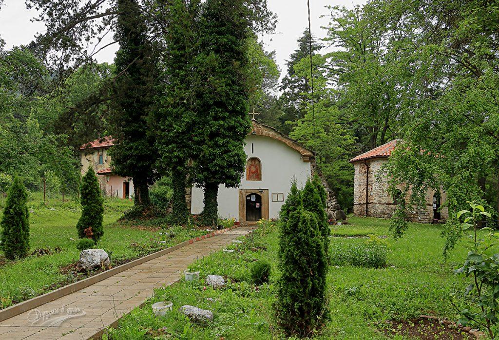 Искрецки манастир - алеята към храма