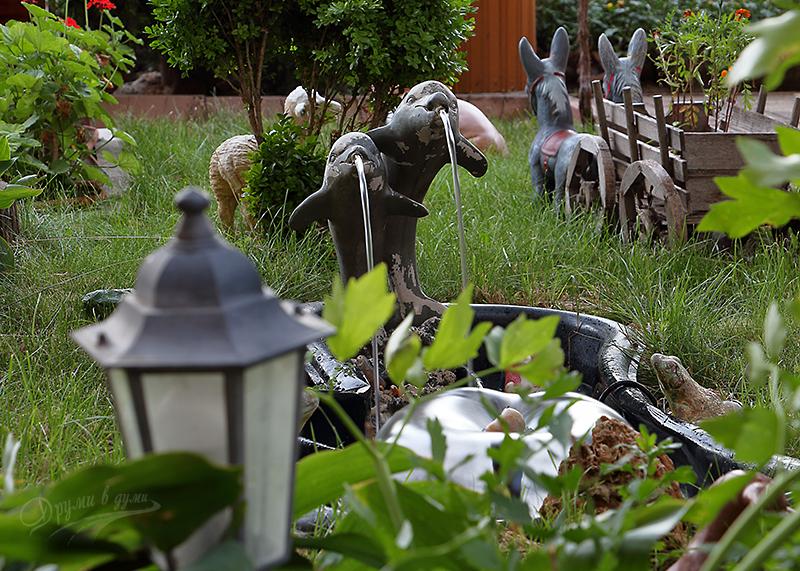 Къща за гости Наш дом - градината