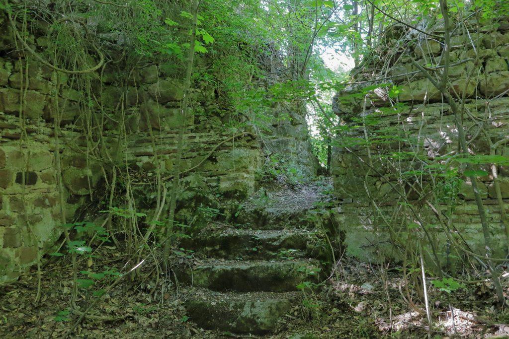 В западната част на крепостта