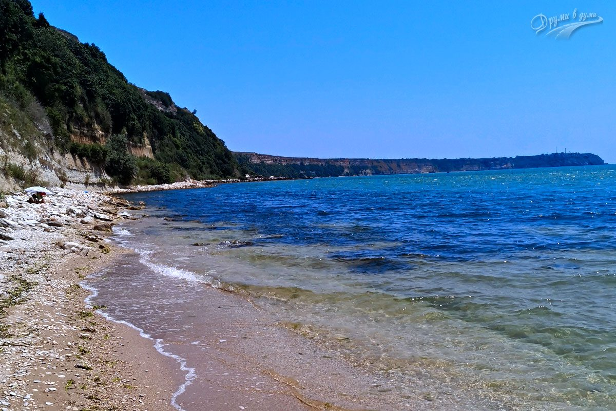 Залив Зеленка с поглед към Калиакра