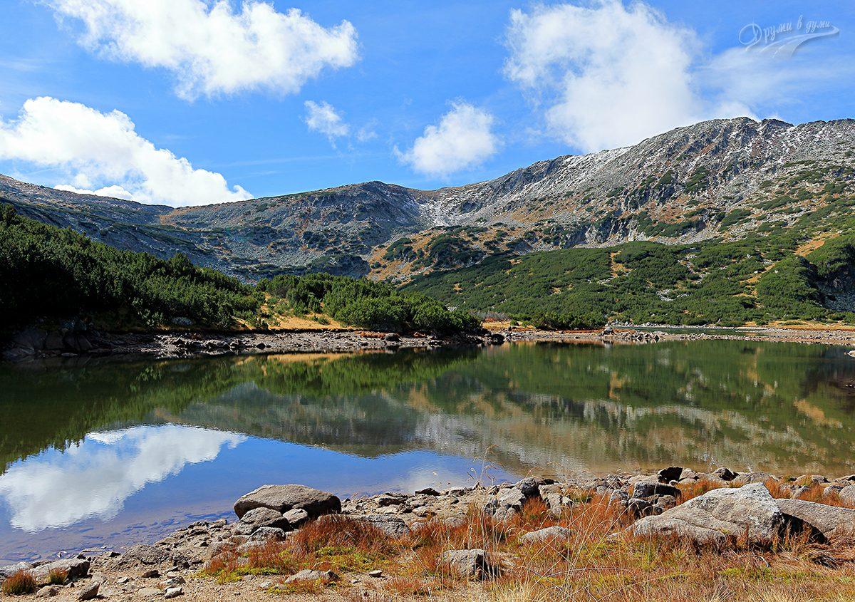 Смрадливото езеро и връх Рилец