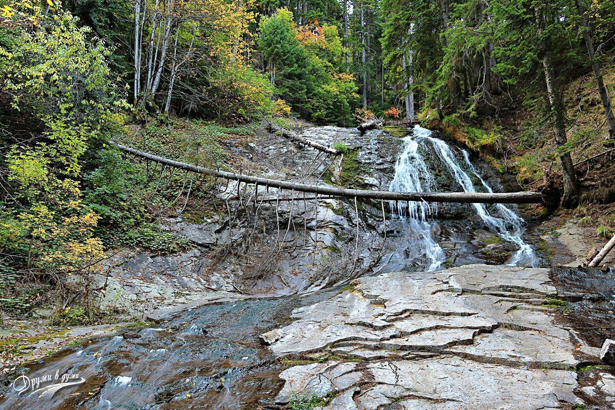 Каньонът на водопадите - по пътеката