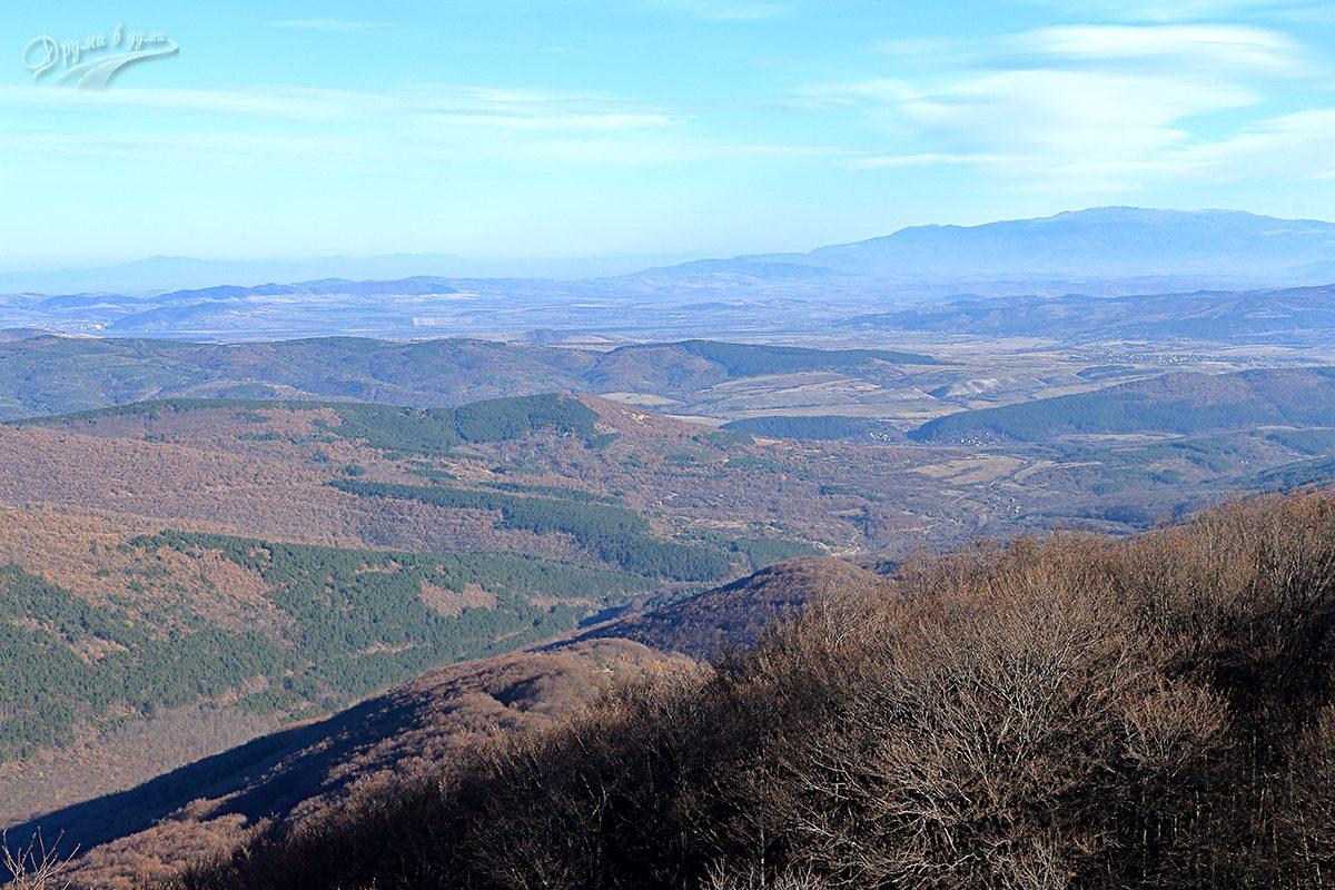 Големи връх - поглед към Витоша