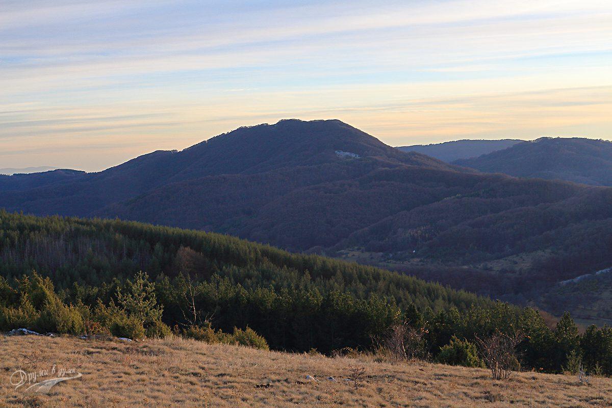 Връх Каменитица - поглед към Големи връх