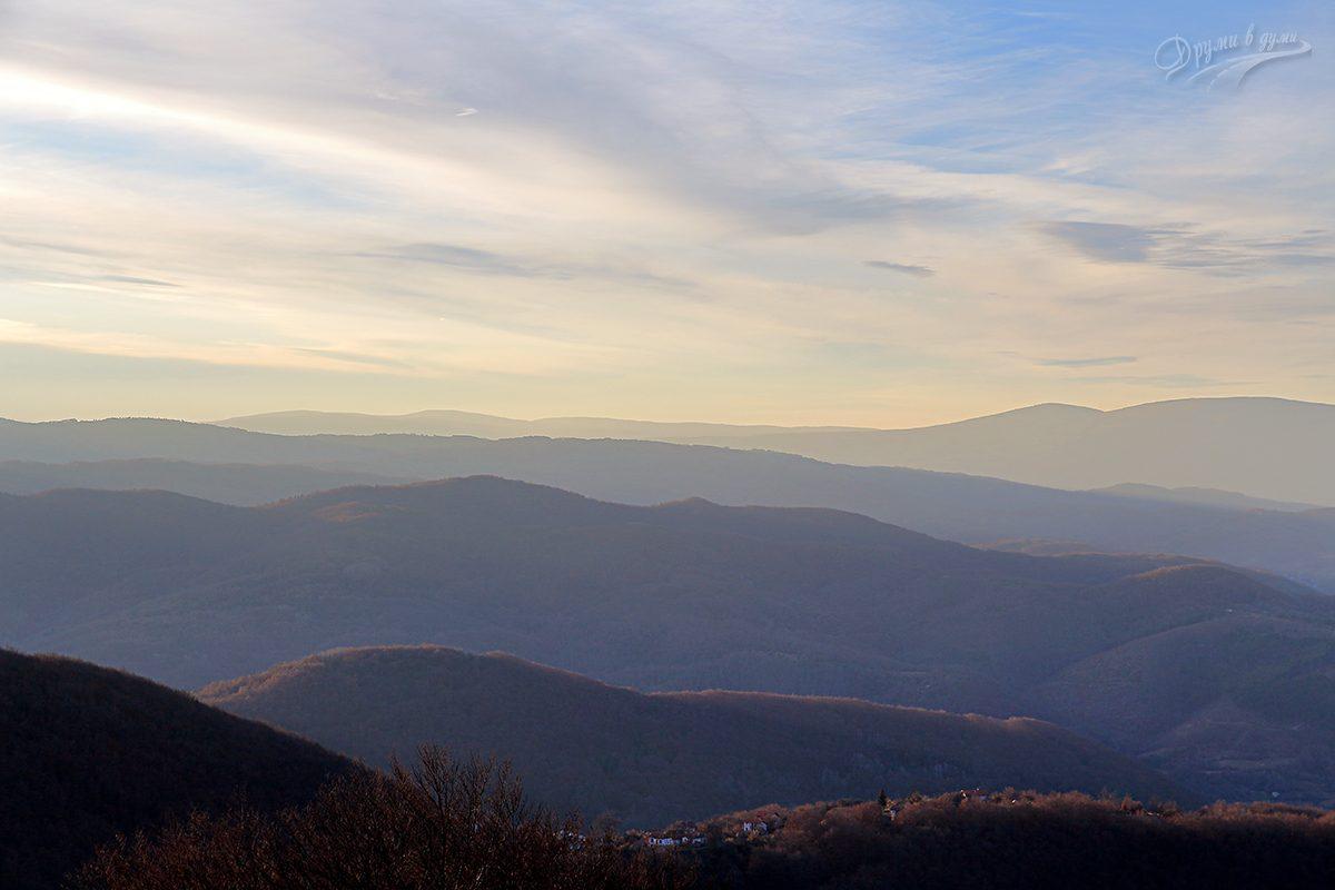 На връх Каменитица в Ерулската планина