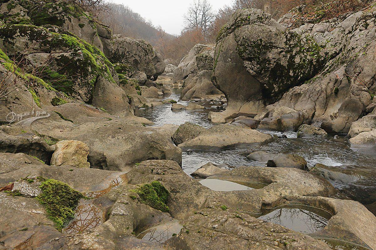 Каньонът на река Ботуня