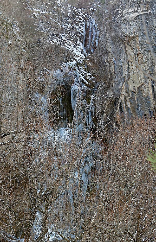 Водопад Котлите в целия си ръст
