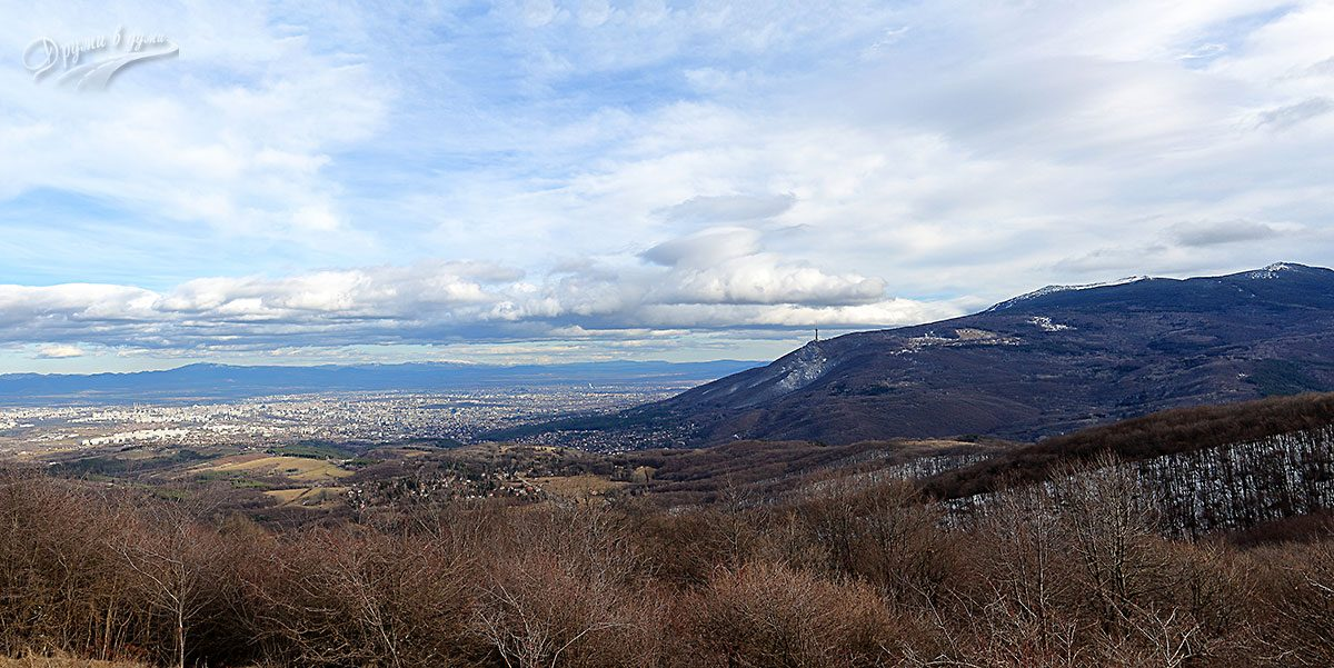 София на длан: гледка от връх Дупевица