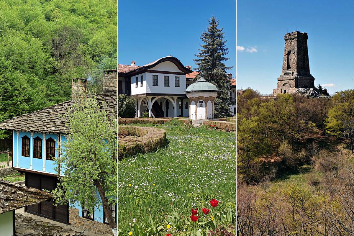 Етъра - Соколски манастир - връх Шипка