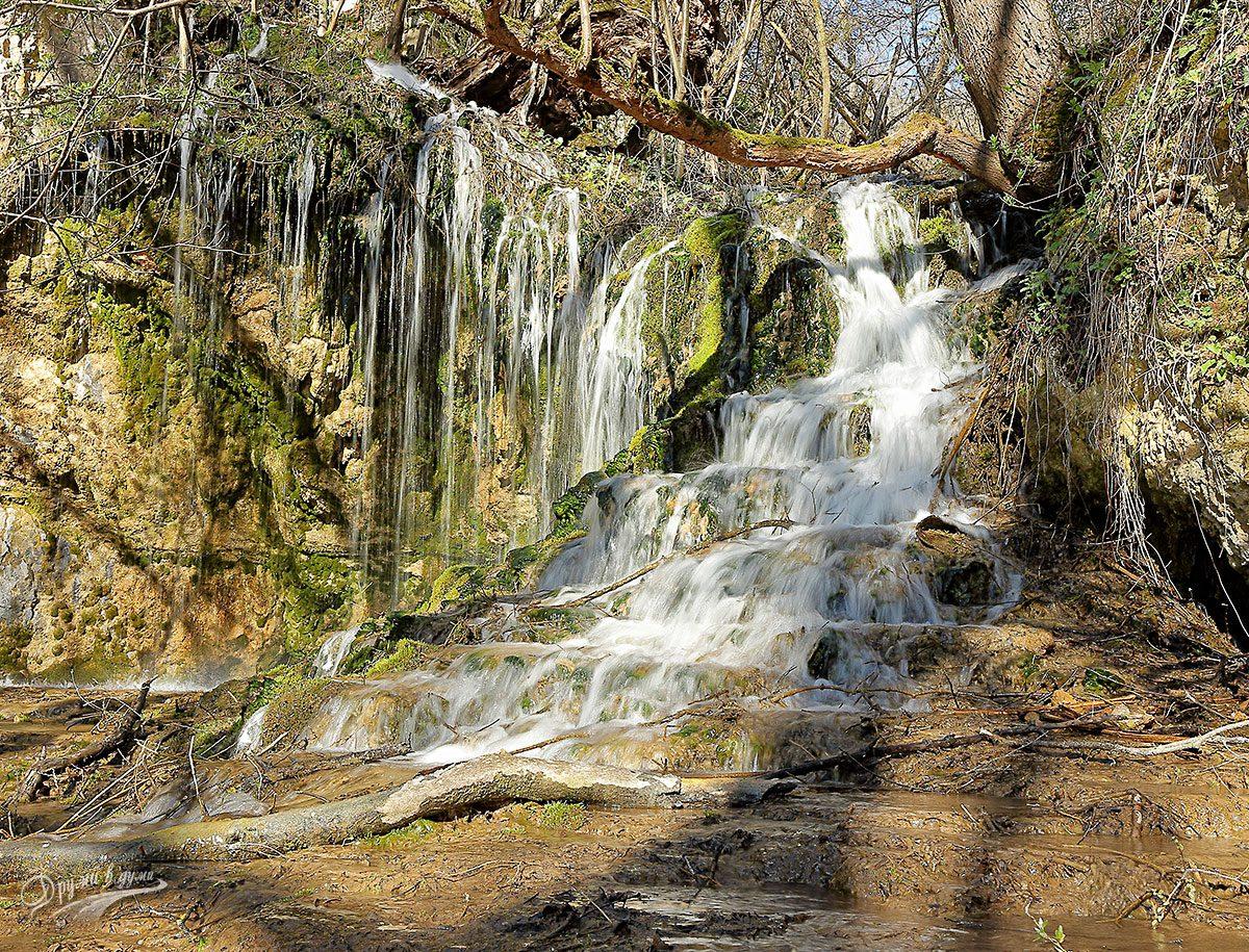 Водопадът до плевнята