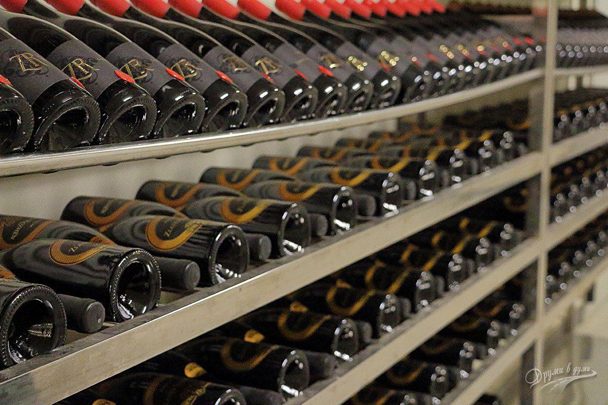 Златен Рожен: вината след отлежаване и бутилиране