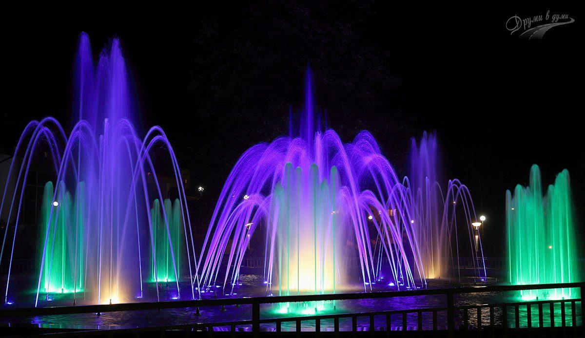 Пеещите фонтани на Панагюрище