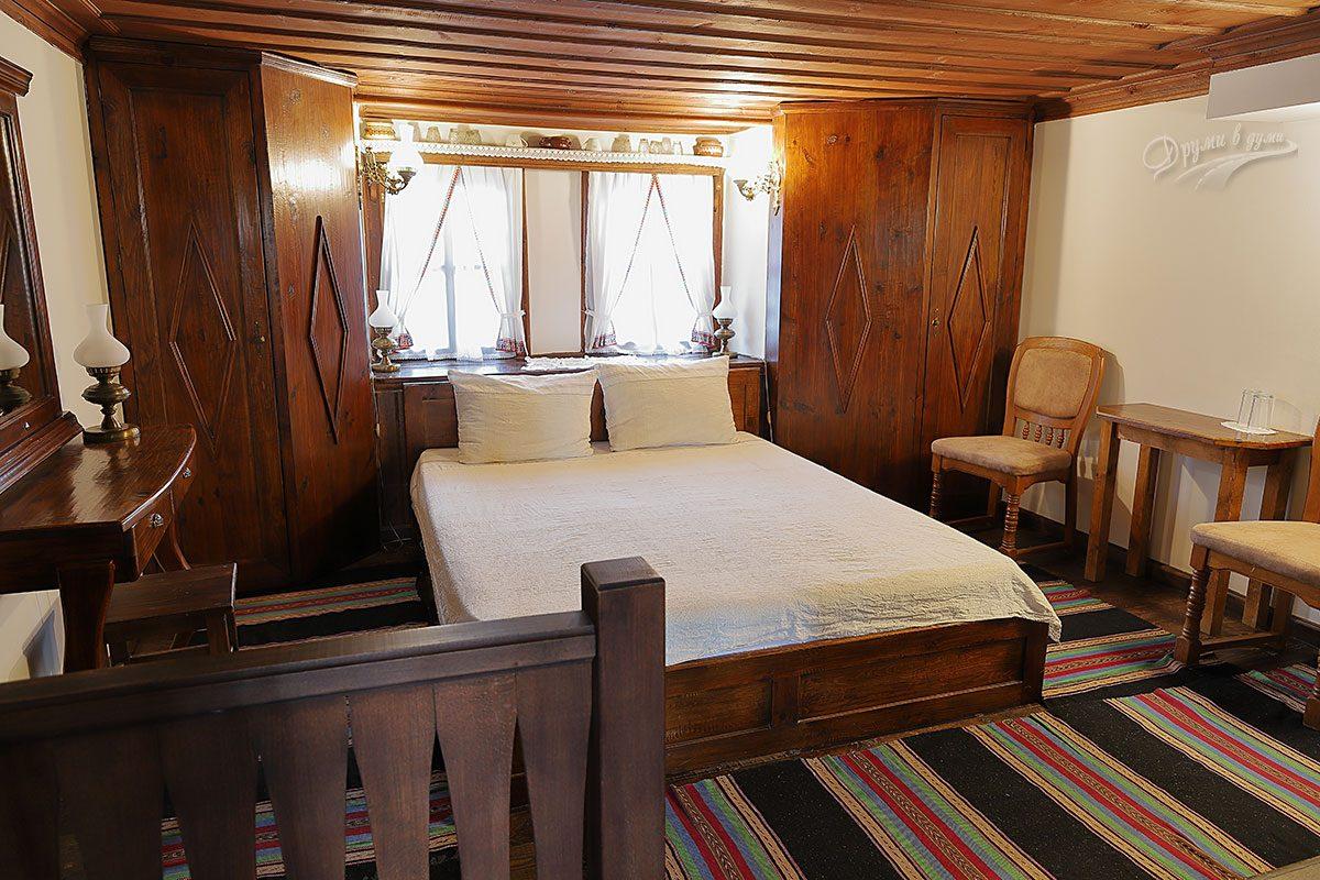 Джуджева къща: нашата уютна стая