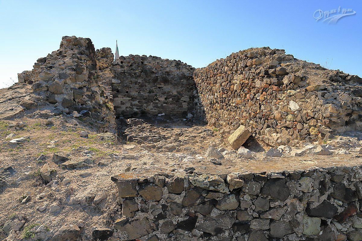 В крепостта Вишеград